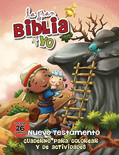 9781623875824: Nuevo Testamento - Cuaderno para colorear y de actividades: La gran Biblia y yo (Spanish Edition)