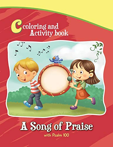 9781623878146: Psalm 100 - Coloring and Activity Book: Bible Chapters for Kids