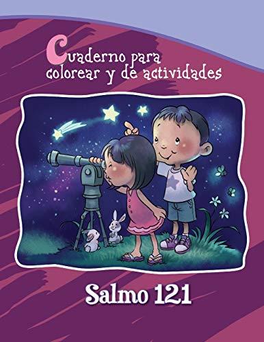 9781623878160: Salmo 121 - Cuaderno para colorear: Dios cuida de nosotros (Capítulos de la Biblia para niños)