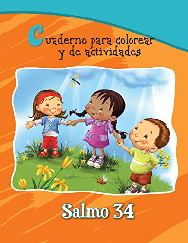 9781623878184: Salmo 34 - Cuaderno para colorear: La bondad de Dios (Capítulos de la Biblia para niños) (Spanish Edition)