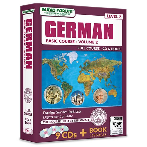 FSI: Basic German 2 (9 CDs/Book) (9781623920203) by Foreign Service Institute