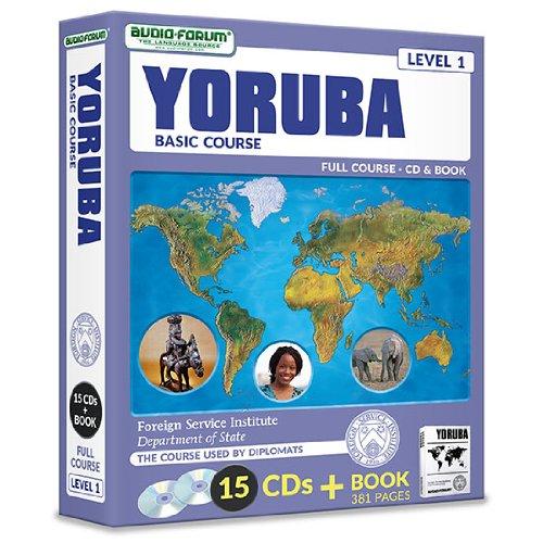 FSI: Yoruba Basic Course (15 CDs/Book): Foreign Service Institute