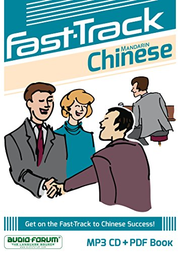 9781623921286: Fast-Track Chinese Mandarin (MP3/PDF)