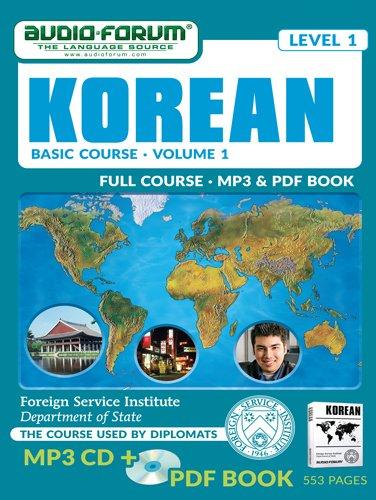 9781623922603: FSI: Basic Korean 1 (MP3/PDF)