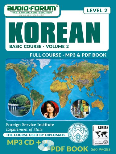 FSI: Basic Korean 2 (MP3/PDF) (9781623922610) by Foreign Service Institute