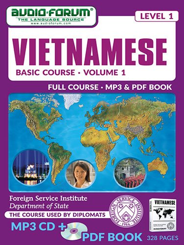 FSI: Basic Vietnamese 1 (MP3/PDF): Foreign Service Institute