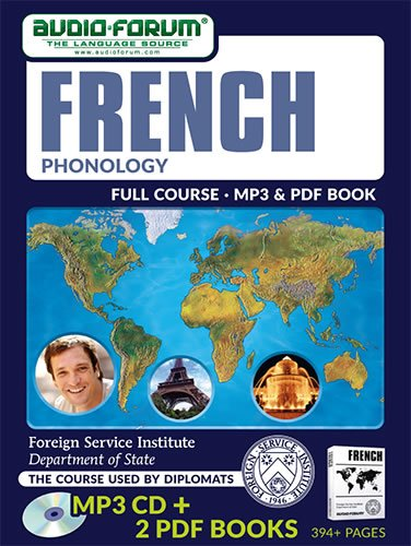 FSI: French Phonology (MP3/PDF) (9781623922726) by Foreign Service Institute