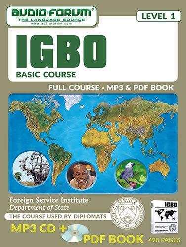 FSI: Igbo Basic Course (MP3/PDF): Foreign Service Institute