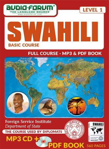 FSI: Swahili Basic Course (MP3/PDF): Foreign Service Institute