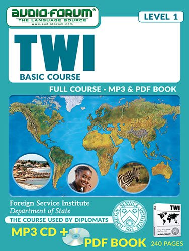 FSI: Twi Basic Course (MP3/PDF): Foreign Service Institute