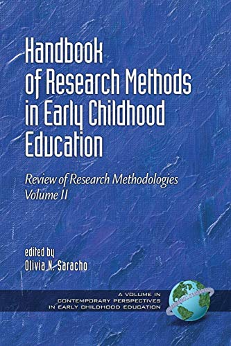 9781623966133: Handbook of Research Methods in Early Childhood Education - Volume 2: Review of Research Methodologies (Contemporary Perspectives in Early Childhood Education)