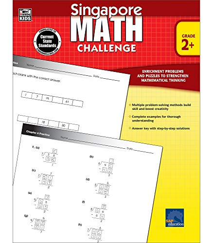 9781623990725: Singapore Math Challenge, Grades 2 - 5