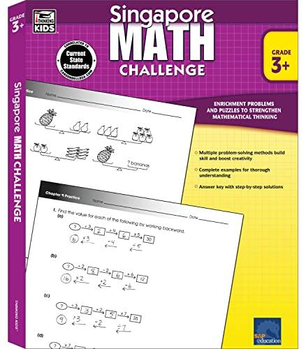 Singapore Math Challenge, Grades 3 - 5: Chew, Terry