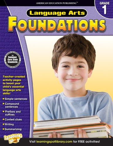 9781623990817: Language Arts Foundations, Grade 1