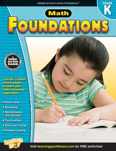9781623990848: Math Foundations, Grade K