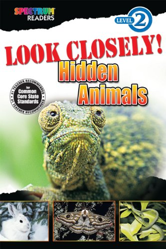 9781623991449: Look Closely! Hidden Animals: Level 2