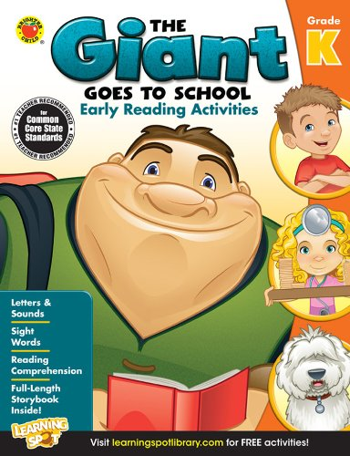 9781623991692: The Giant Goes to School: Early Reading Activities, Grade K