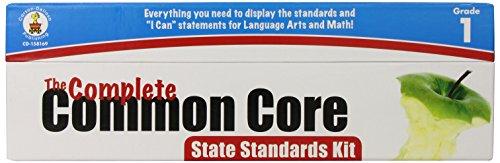 The Complete Common Core State Standards Kit, Grade 1: Carson-Dellosa Publishing