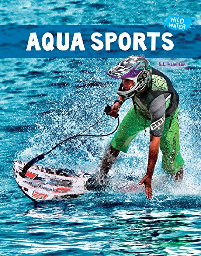 Aqua Sports 9781624037498 This title introduces readers to Aqua Sports. Readers will learn the requirements for aqua sports success, such as practice, balance, strength, and the ability to swim. Crafts are discussed, such as the Aquaflyer, Jetlev-Flyer, Jetovator, Flyboard and Power Board, as are the skills needed to participate in each. Xtreme facts provide additional information on these exciting sports. Aligned to Common Core Standards and correlated to state standards. A&D Xtreme is an imprint of Abdo Publishing Company, a division of ABDO.