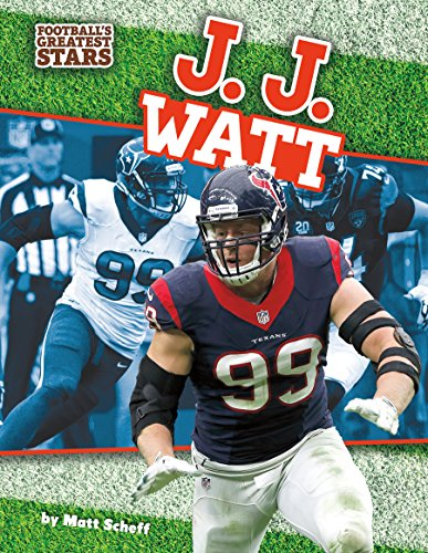 9781624038280: J. J. Watt (Football's Greatest Stars)