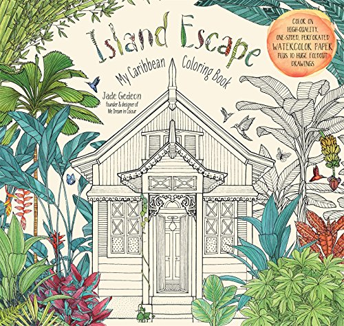 9781624142437: Island Escape: My Caribbean Coloring Book