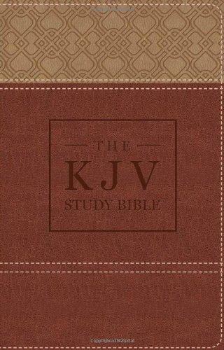9781624162459: THE KJV STUDY BIBLE HANDY SIZE (BROWN) (King James Bible)