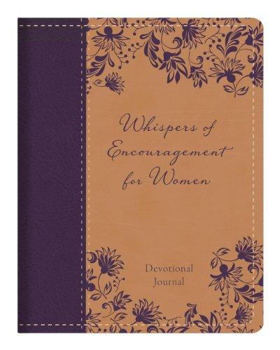 Whispers of Encouragement for Women Devotional Journal