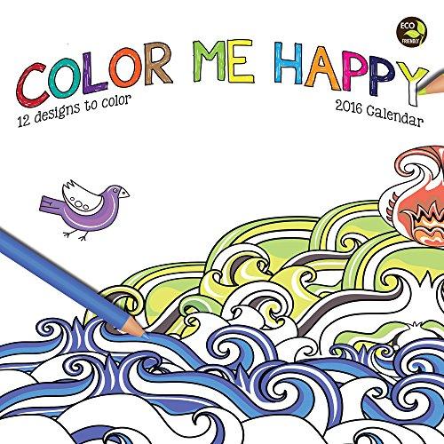 9781624381805: Cal 2016 Color Me Happy
