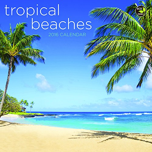 2016 Tropical Beaches Mini Calendar: TF PUBLISHING