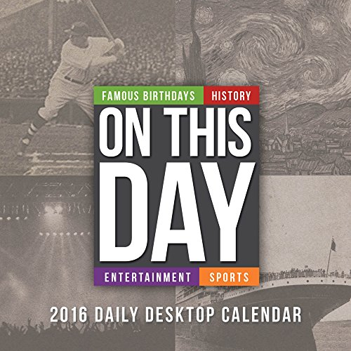 9781624382451: 2016 On This Day Daily Desktop Calendar