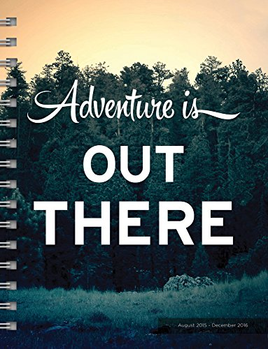 9781624382680: Adventure is Out There 2016 17-Month Planner