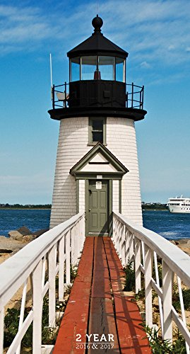 9781624383762: Lighthouses 2016-2017 2-Year Pocket Calendar