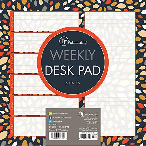 Petals Weekly Desk Pad