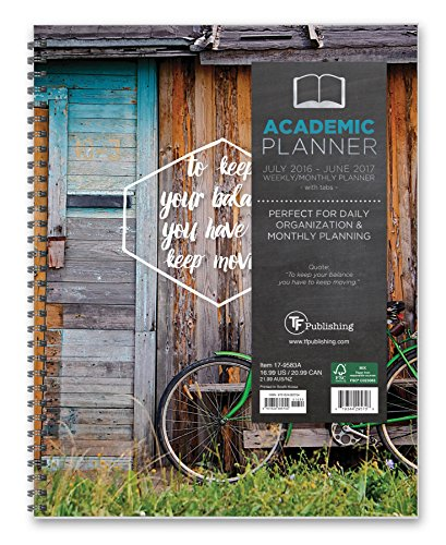 9781624385704: Keep Moving 2017 Academic Planner