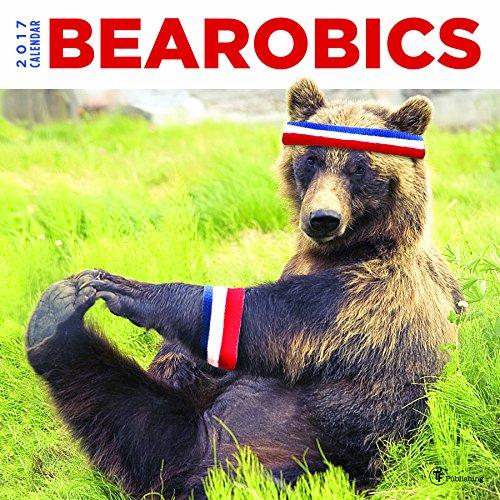 2017 Bearobics Wall Calendar