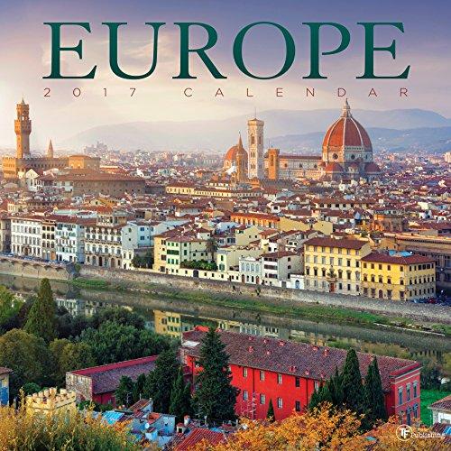 2017 Europe Wall Calendar