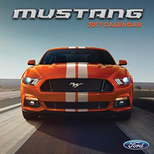 2017 Mustang Wall Calendar