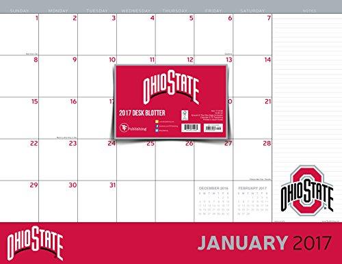 9781624389085: 2017 Ohio State University 12 Month Desk Blotter