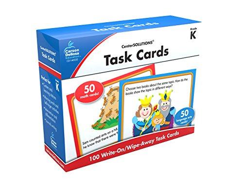 9781624425837: Task Cards Learning Cards, Grade K