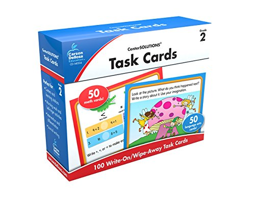 Task Cards Learning Cards, Grade 2 (Centersolutions for the Common Core)