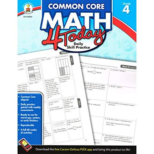 9781624426025: Common Core Math 4 Today, Grade 4 (Common Core 4 Today)