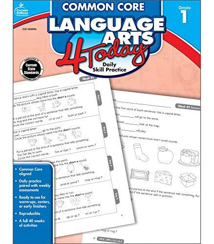 Common Core Language Arts 4 Today, Grade 1: Daily Skill Practice (Common Core 4 Today): Ritch, ...