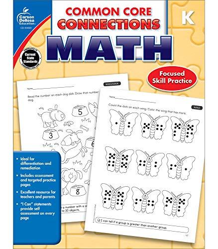 Common Core Connections Math, Grade K