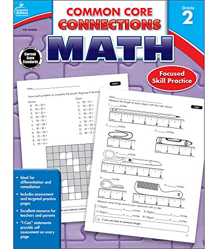 9781624427886: Common Core Connections Math, Grade 2