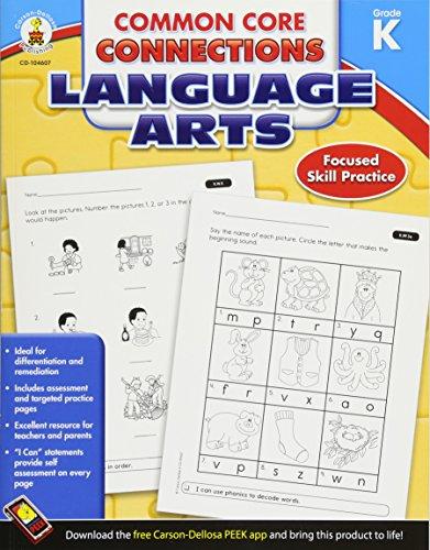 9781624427923: Common Core Connections Language Arts, Grade K