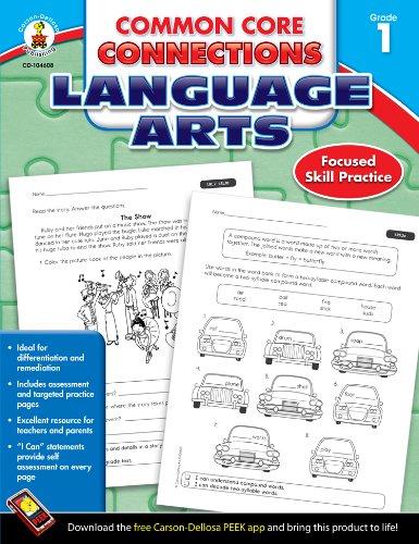 9781624427930: Common Core Connections Language Arts, Grade 1