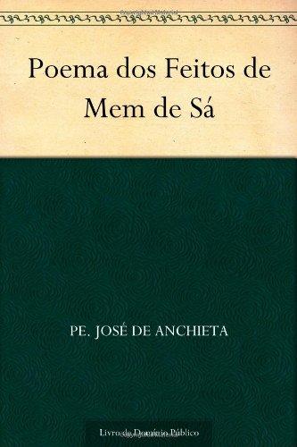 9781624495274: Poema dos Feitos de Mem de Sá (Portuguese Edition)