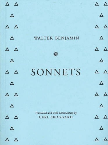 9781624620812: Sonnets: By Walter Benjamin