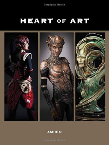 9781624650048: Heart of Art: A Glimpse into the Wondrous World of Special Effects Makeup and Fine Art of Akihito