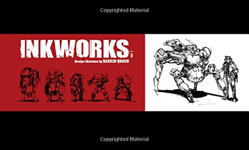 9781624650154: Inkworks: Darren Quach Sketchbook Vol. 01